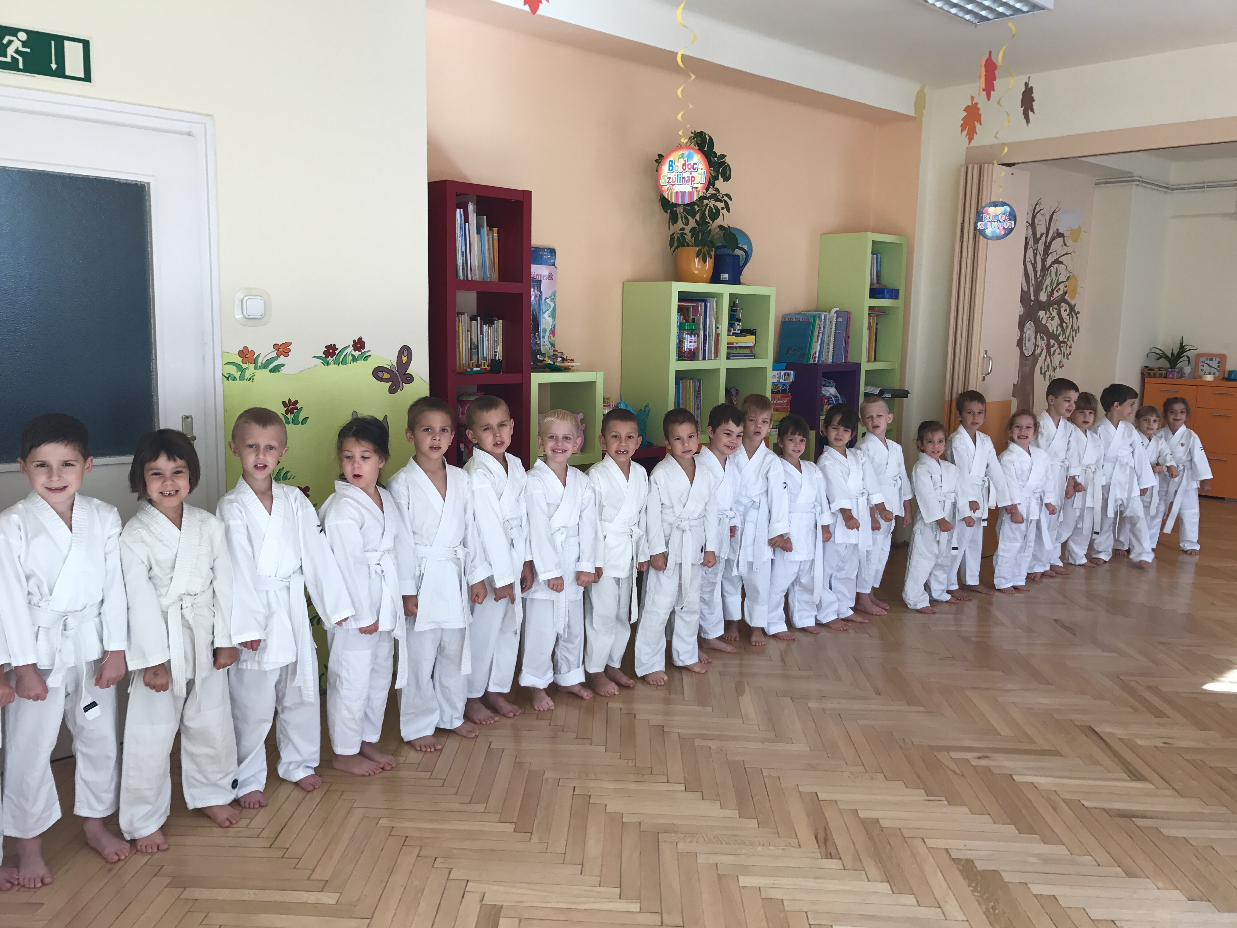 Karate a Hétszínvirág Magánóvodában